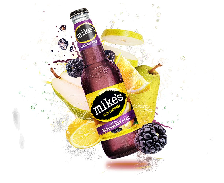 Mike's Hard Lemonade Pineapple Seasonal Image