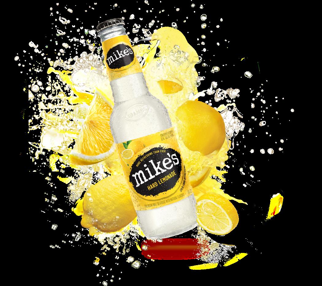 Mike's Hard Lemonade Hero Bottle