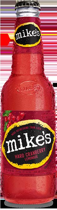 Cranberry Mike's Hard Lemonade Bottle