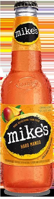 Mango Mike's Hard Mango Bottle