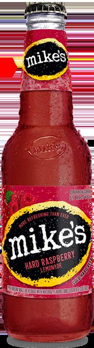 Raspberry Mike's Hard Lemonade Bottle