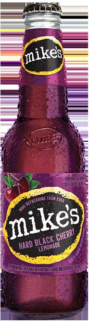 Black Cherry Mike's Hard Lemonade Bottle