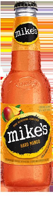 Mango Mike's Hard Lemonade Bottle