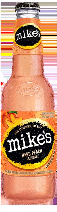 Peach Mike's Hard Lemonade Bottle