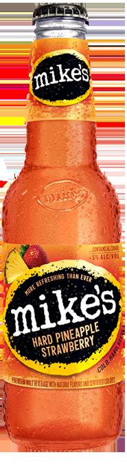 Pineapple Strawberry Mike's Hard Lemonade Bottle
