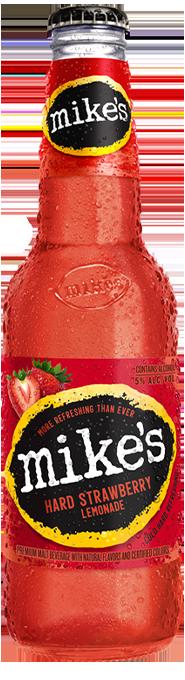 Strawberry Mike's Hard Lemonade Bottle